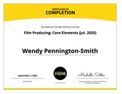 Sundance certificate