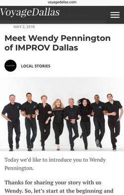 Voyage Dallas interview