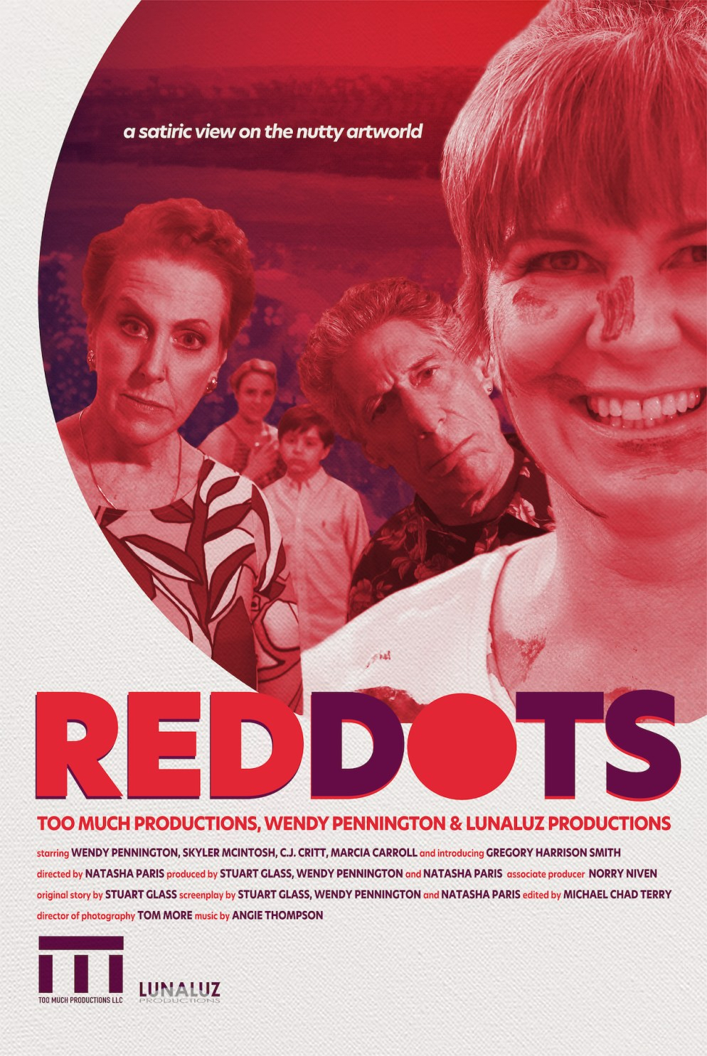 """Red Dots"" poster"