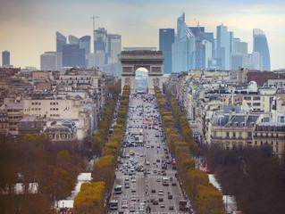 Paris, city of lights? Or light?