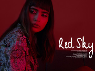 Red Sky Editorial Retouching