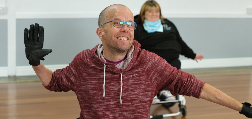 Adult Dance Class Session in Llanharen RCT