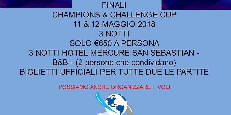CHAMPIONS & CHALLENGE CUP - FINALI