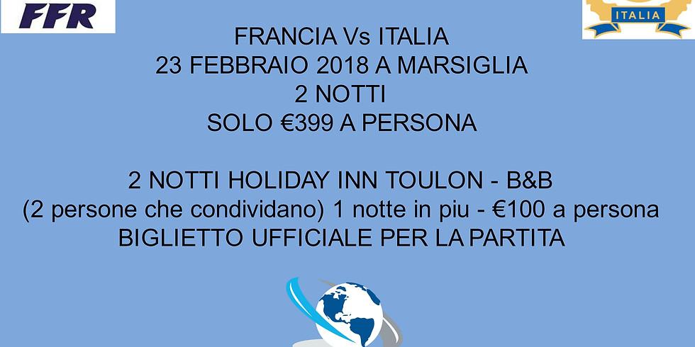 6 NAZIONI - FRANCIA Vs ITALIA