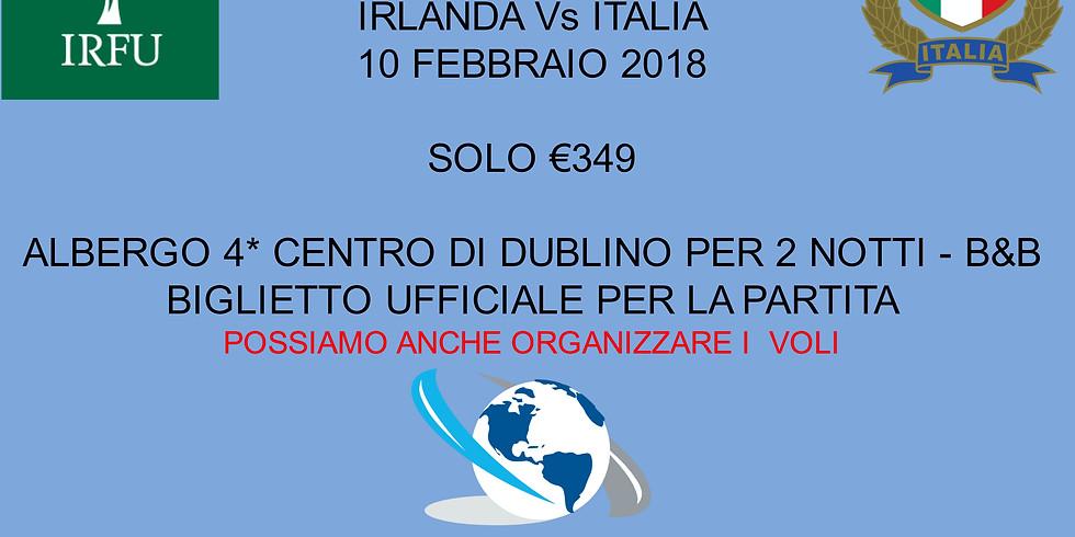 6 NAZIONI - IRLANDA Vs ITALIA