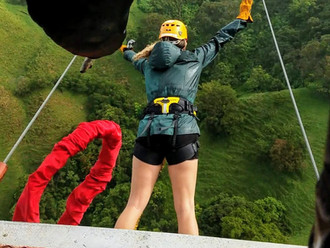 Highest Bungee Jump in Central America