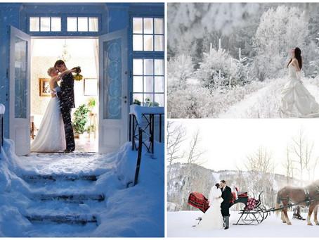 10 põhjust pidada pulmad talvel