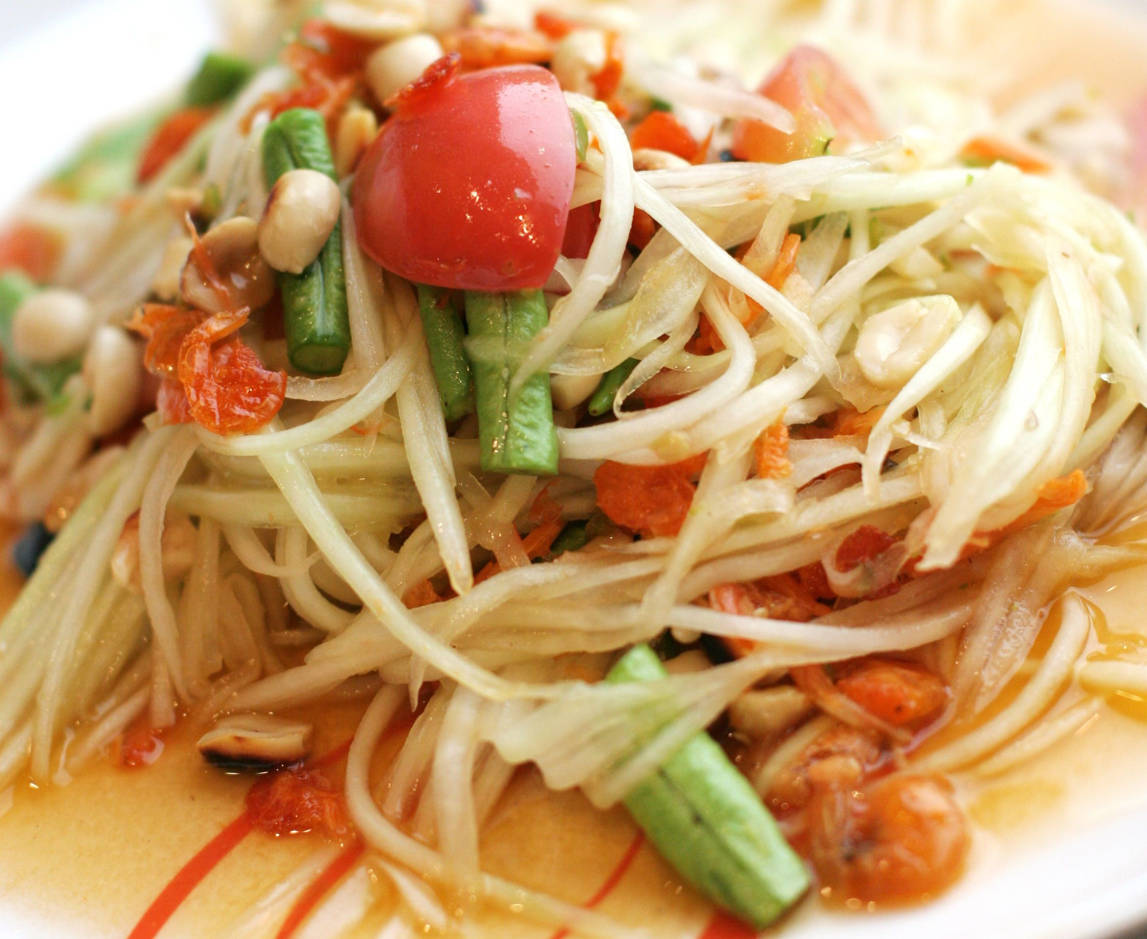 79. Papaya salad
