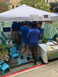 Christian Science, Bible, Park(ing) Day, parklet, Chattanooga, River City Company, Patton Parkway, McCallie students