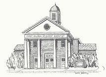 Church drawing - Daniel Bodkin, Christian Science, Chattanooga, TN