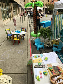 Christian Science, Bible, Park(ing) Day, parklet, Chattanooga, River City Company, Patton Parkway