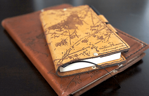 Hackberry Butterfly - Small Leather Journal