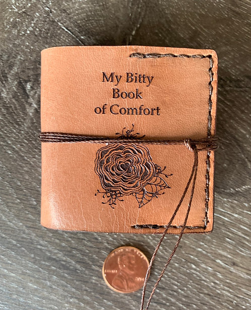 Bitty Book of Comfort  Video Class/Kit (Rose Pattern)