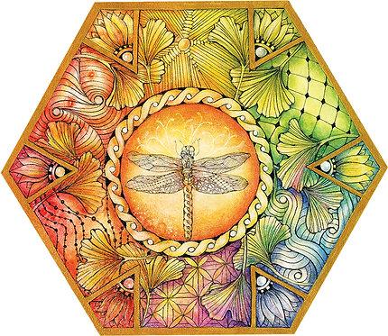 Fly Dragonfly Art Print