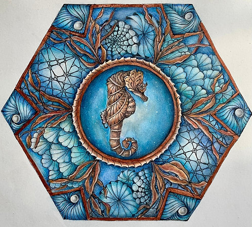Under the Sea Two-Part  Video Zentangle®  Class