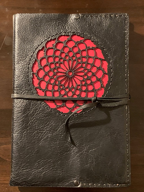 Mandala Cutout Art Journal
