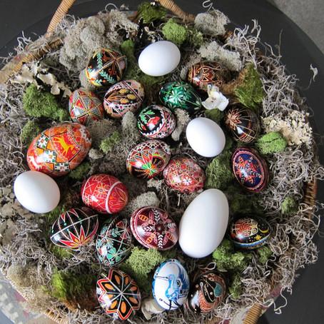 """""""Eggsquisite"""" Eggs of Ukrainian Tradition"""