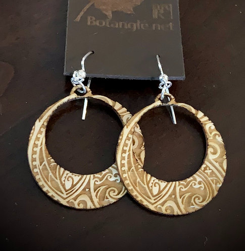 Paisley Crescent Earrings