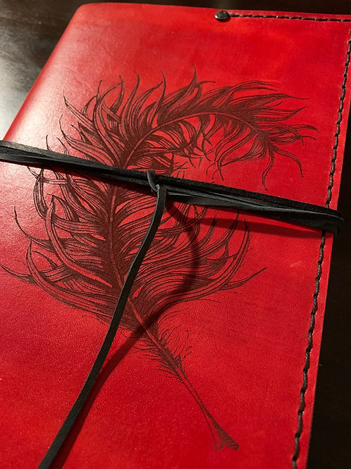 Feather Art Journal