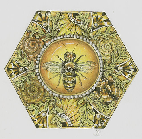 Honey Bee Mine Two-Part Zentangle® Video Class