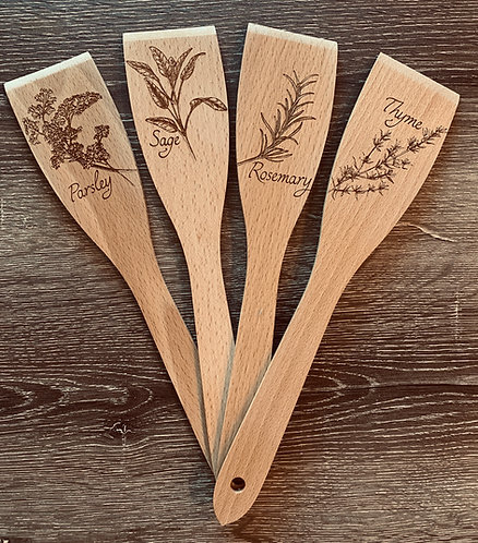Quartet of Herb Garden Markers