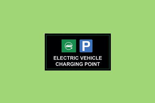 ZAP-EV Parking Sign