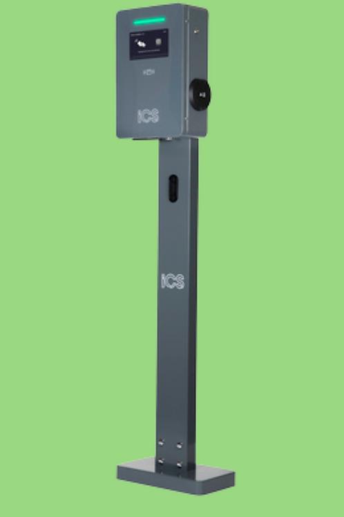 iCS Intelligent EV Pedestal Chgr 22kW Side Connect