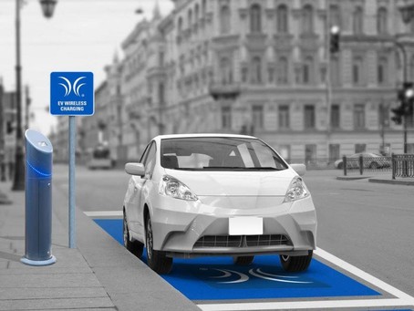 UK firm begins public trial of wireless EV chargers