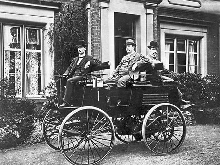 Electric vehicles aren't a new concept!