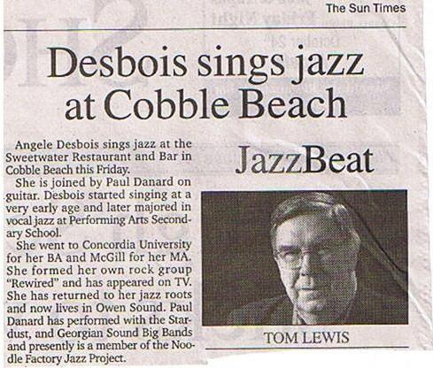Press: Sun Times
