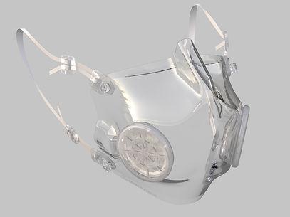 Masque de protection transparent filtres transparents - iD masque