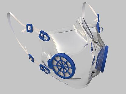 Masque de protection écologique recyclable | iD masque