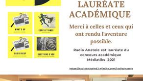 Radio Anatole est lauréate du prix académique Médiatiks 2021