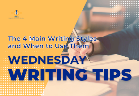 The 4 Main Writing Styles and When to Use Them