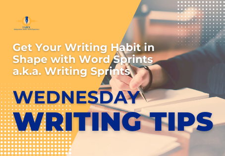 Get Your Writing Habit in Shape with Word Sprints a.k.a. Writing Sprints