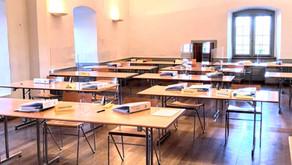 Sitzungen und Seminare im Schloss sind BAG Corona-konform