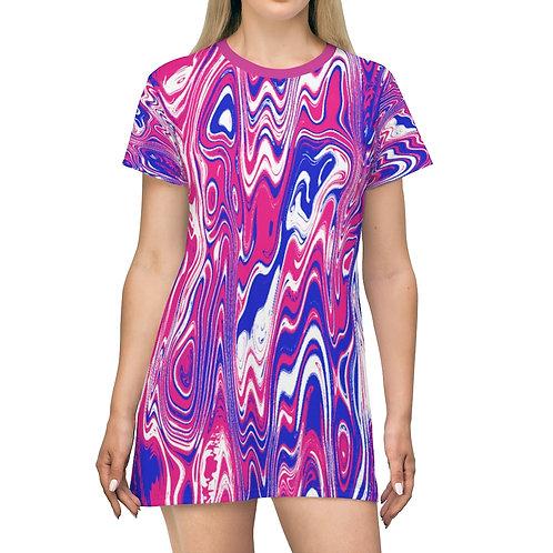 Mini Dress - Berry Splash