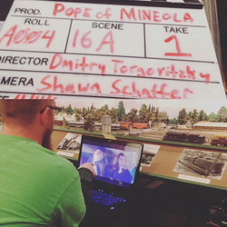 """Slate Shot and """"Yester-Dailies"""""""