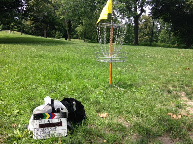 Frisbee Golf Goal, Driver's Seat