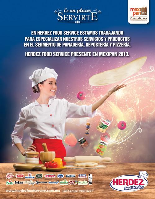 Umbrella campaign of adverstising for specialised magazines / campaña umbrella para Herdez Food Service anuncios en revistas especializadas