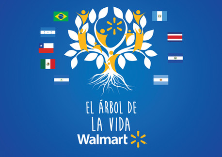 Design of logotype for a Latin-American Walmart event / diseño de logotipo para Walmart Latinoamerica