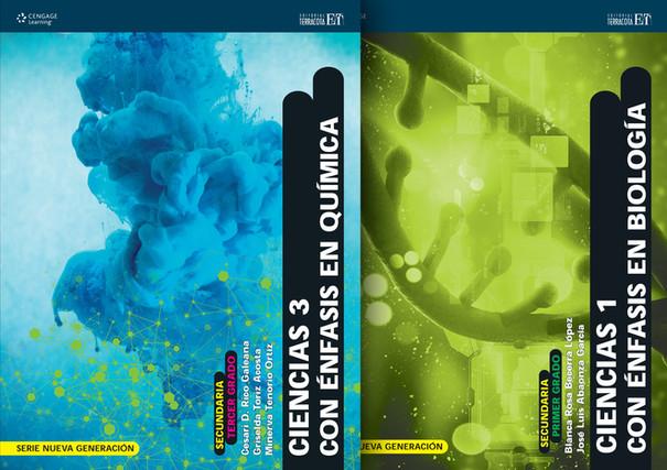 Book covers for Junior high school text books / diseño de portadas para libros de educación secundaria Cengage Learning