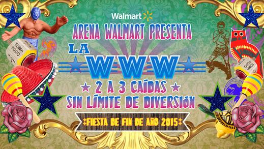 Master graphic for New Years Eve party for Walmart Mexico / Gráfico para fiesta de fin de año