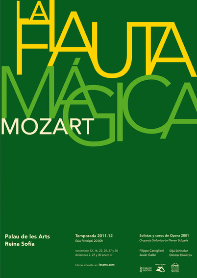 Type proposal for opera poster / propuesta para cartel tipográfico de ópera
