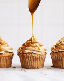 Cinnamon Caramel Cupcakes