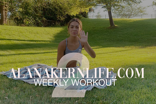 Weekly Workout Video 2