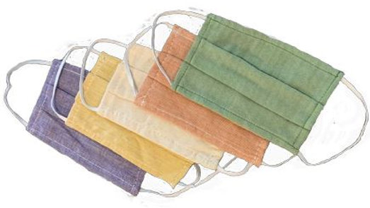 ANTIMICROBIAL HEMP 3-LAYER MASK