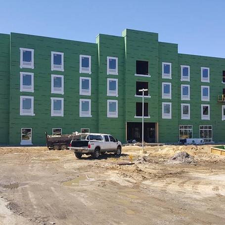 New Aparatment Building