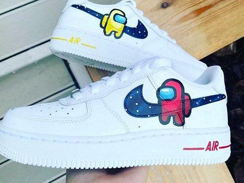 Among Us Nike Air Force 1
