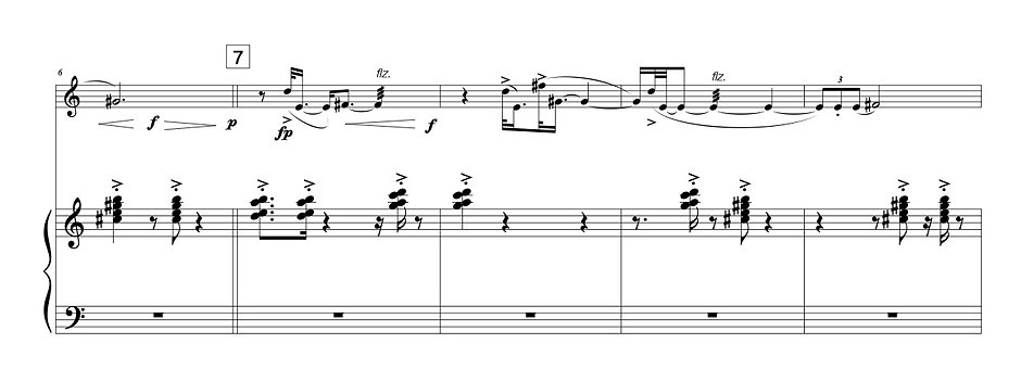 honeycomb (piccolo + piano)